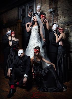 "Think ""Phantom of the Opera"" or vintage renaissance era - Throwback ideas  - Wedding Soiree Blog by K'Mich, Philadelphia's premier resource for wedding planning and inspiration"