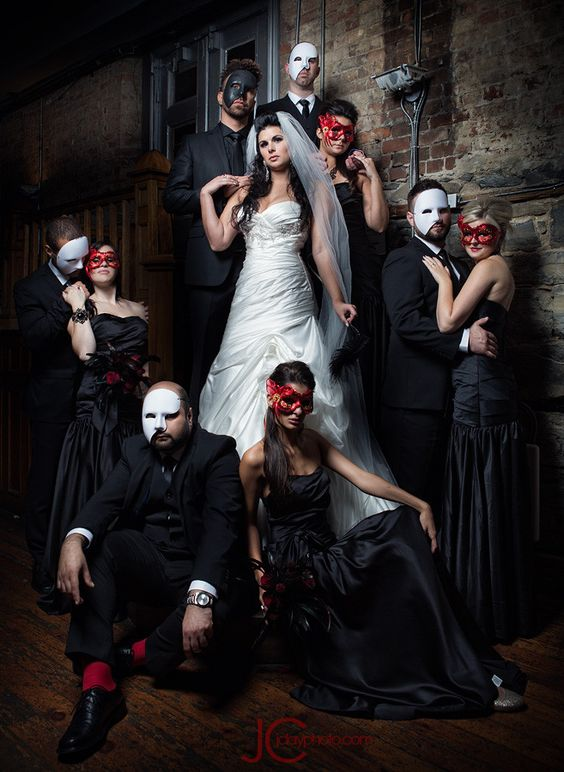 "Think ""Phantom of the Opera"" or vintage renaissance era - Throwback ideas  - Wedding Soiree Blog by K'Mich, Philadelphia's premier resource for wedding planning and inspiration"
