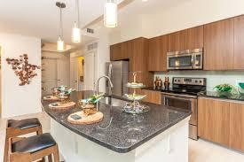 A modern kitchen with stainless steel appliances  Description automatically generated