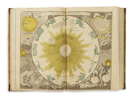 Johann Baptist Homann and Heirs, Atlas Mapparum Geographicarum Generalium & Specialium Centum Foliis, Nuremberg, circa 1750s. Estimate $12,000 to $15,000.
