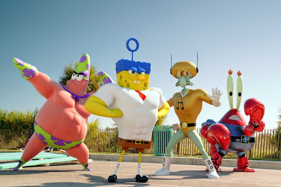 Sponge out of Water 3D