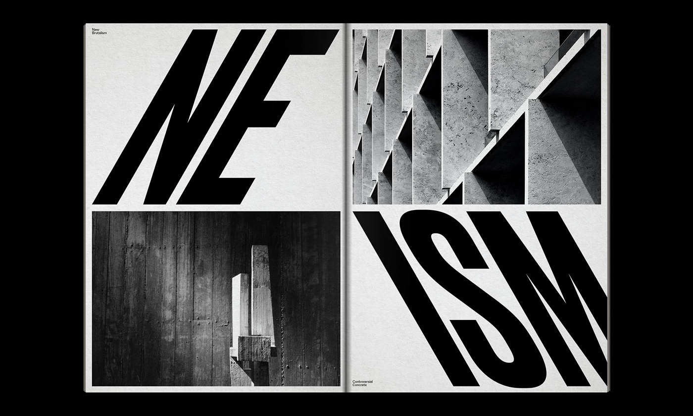 Editorial Design : New Brutalism Controversial Concrete 6