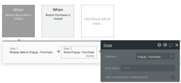 Ticketmaster clone tutorial workflow