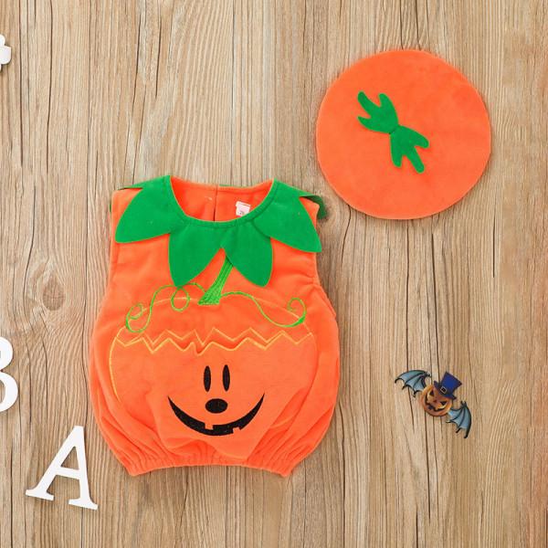 Cute Baby Pumpkins/Jack o' Lantern onesie