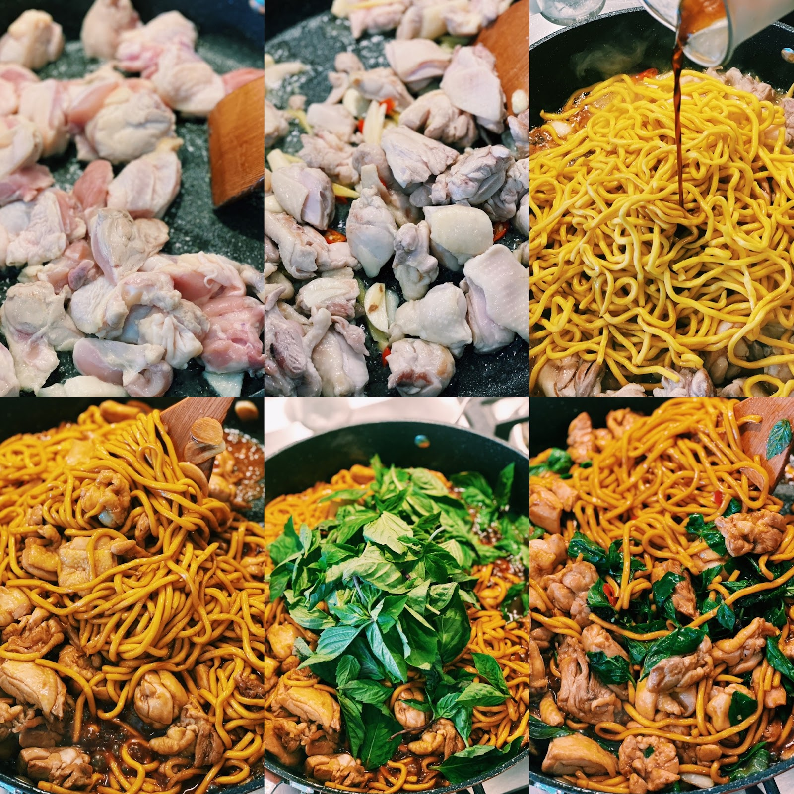 How to make Chicken Noodle stir-fry