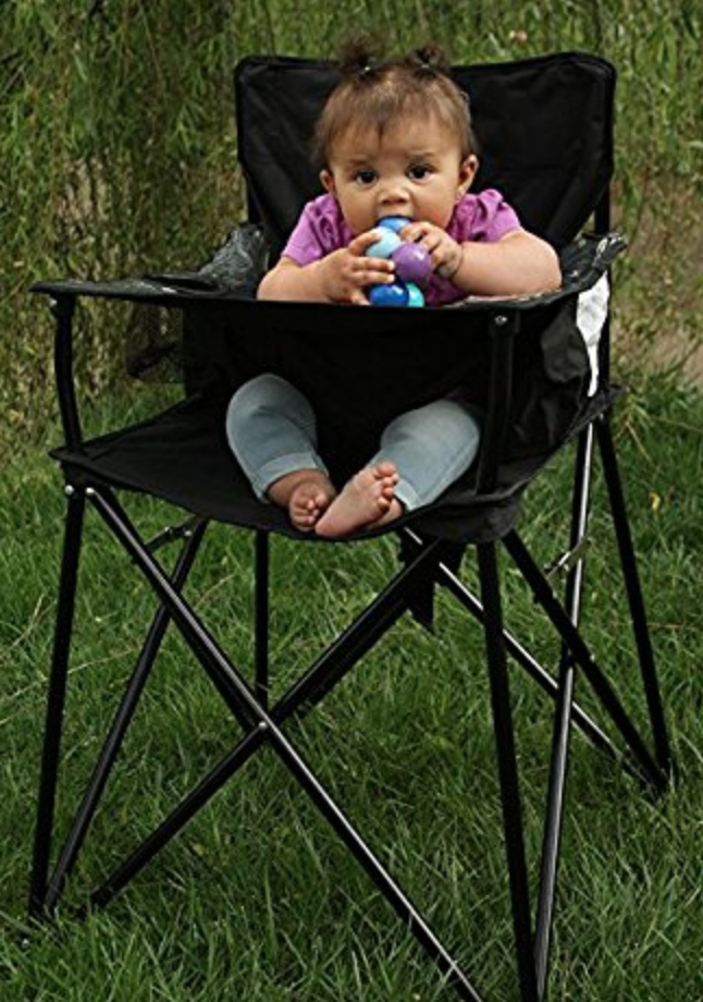 family camping high chair