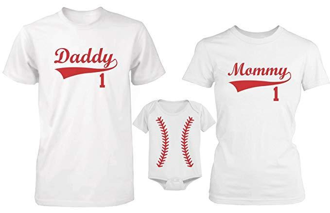 365 In Love's Family Matching Baseball T-shirt and Onesie