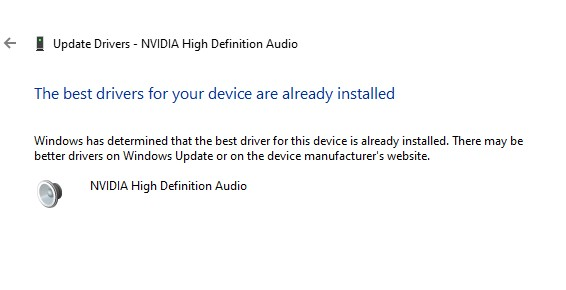 driver updated