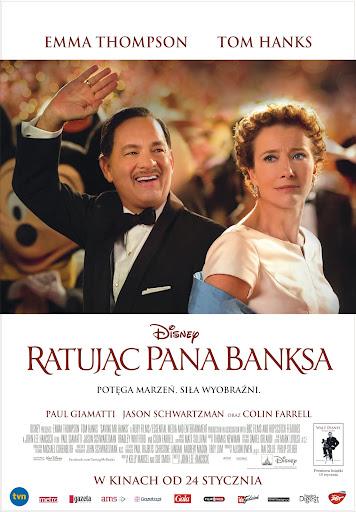 Polski plakat filmu 'Ratując Pana Banksa'