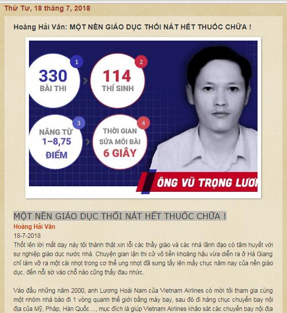 Blog Tễu của Nguyễn Xuân Diện