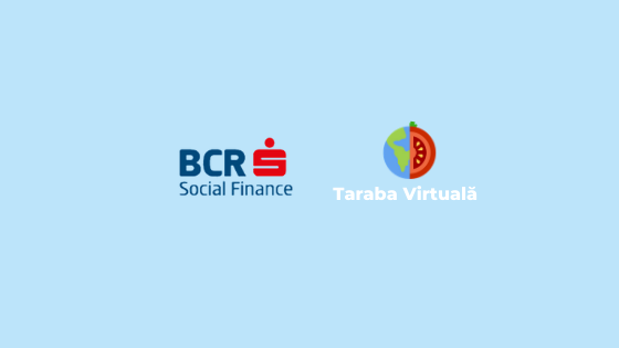 Taraba Virtuală devine partener BCR Social Finance