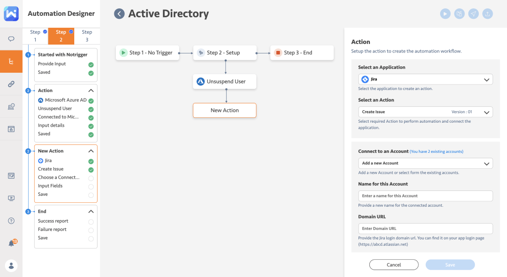 Active Directory automation