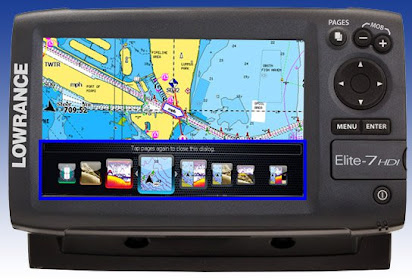 Lowrance elite 7 mapping software