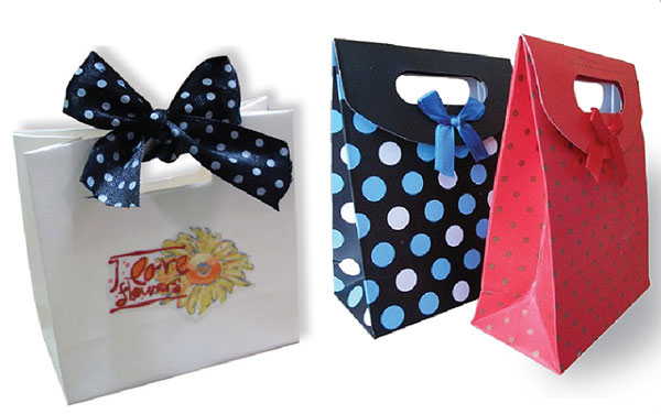 Mẫu túi giấy shop thời trang đẹp