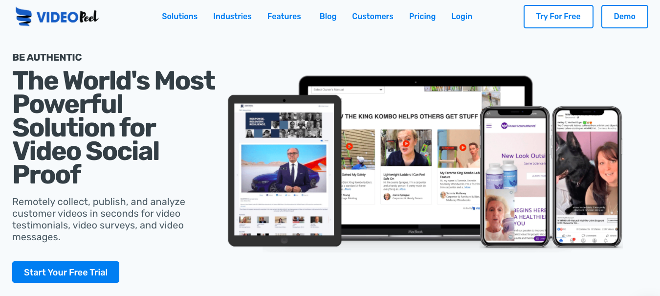 VideoPeel: The World's Most Powerful Solution for Video Social Proof