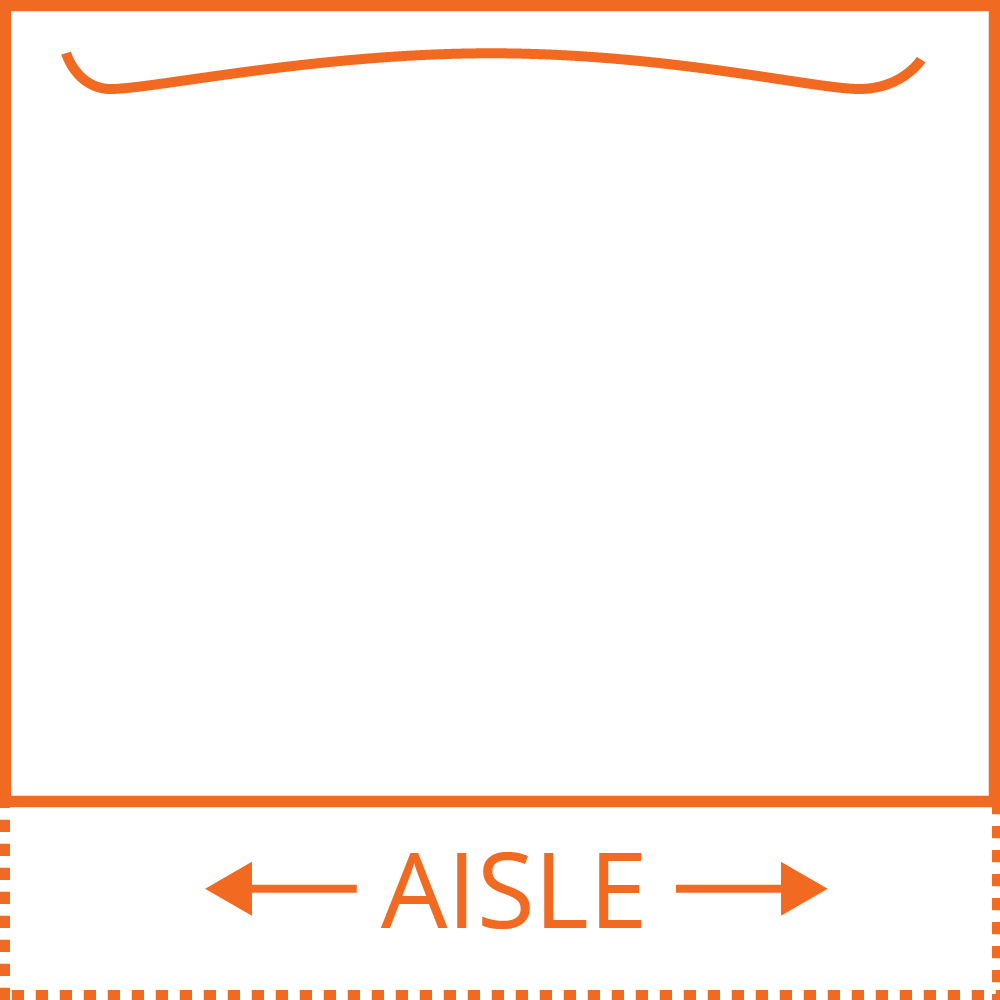 inline booth diagram