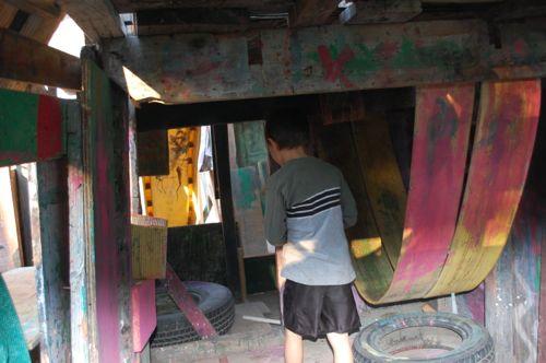Berkeley Adventure Playground Cave