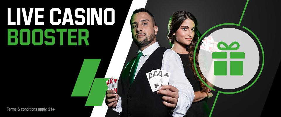 Unibet Online Casino bonus