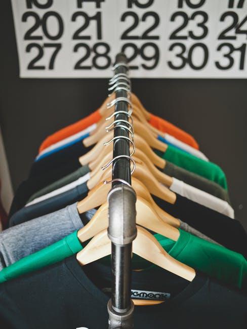 clothes, clothes hanger, clothes rack
