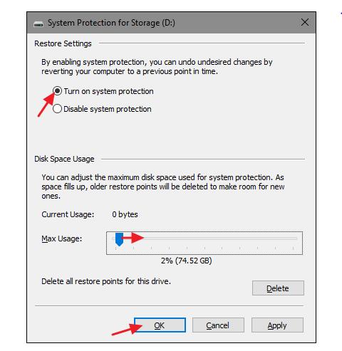System restore in windows 8/8.1 - Step 12