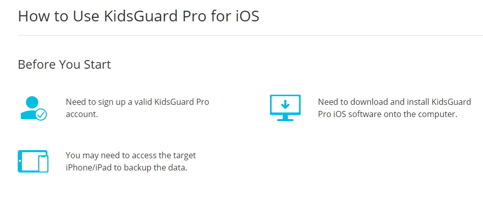 kidsguard ios installation guide