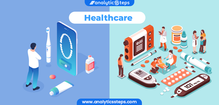 The image shows the technology advancement in healthcare.