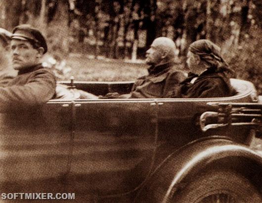 Ленин и Крупская почти никогда не ходили пешком