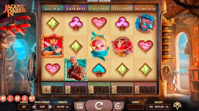 Jackpot Raiders Slot.