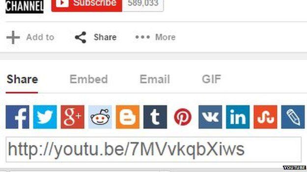 GIF option on YouTube