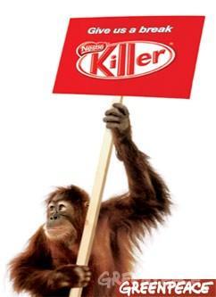 Online reputation crisis - Nestlé (Kit-Kat) case