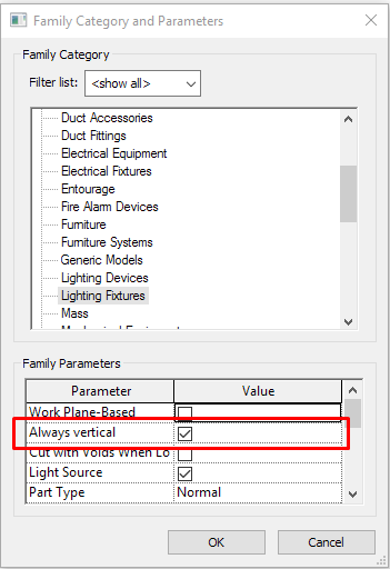 Electrical Families - Modeling and configuration in Revit