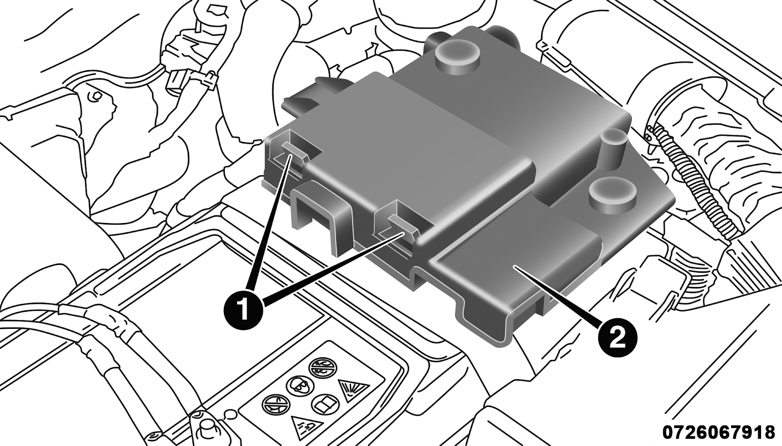 Battery Fuse Cover Location
