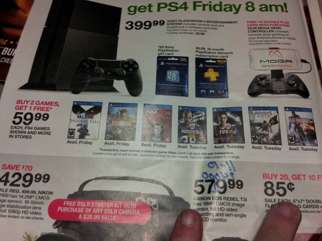 Buy 2, Get 1 Free on PlayStation 4 Games at Target During Launch Week
