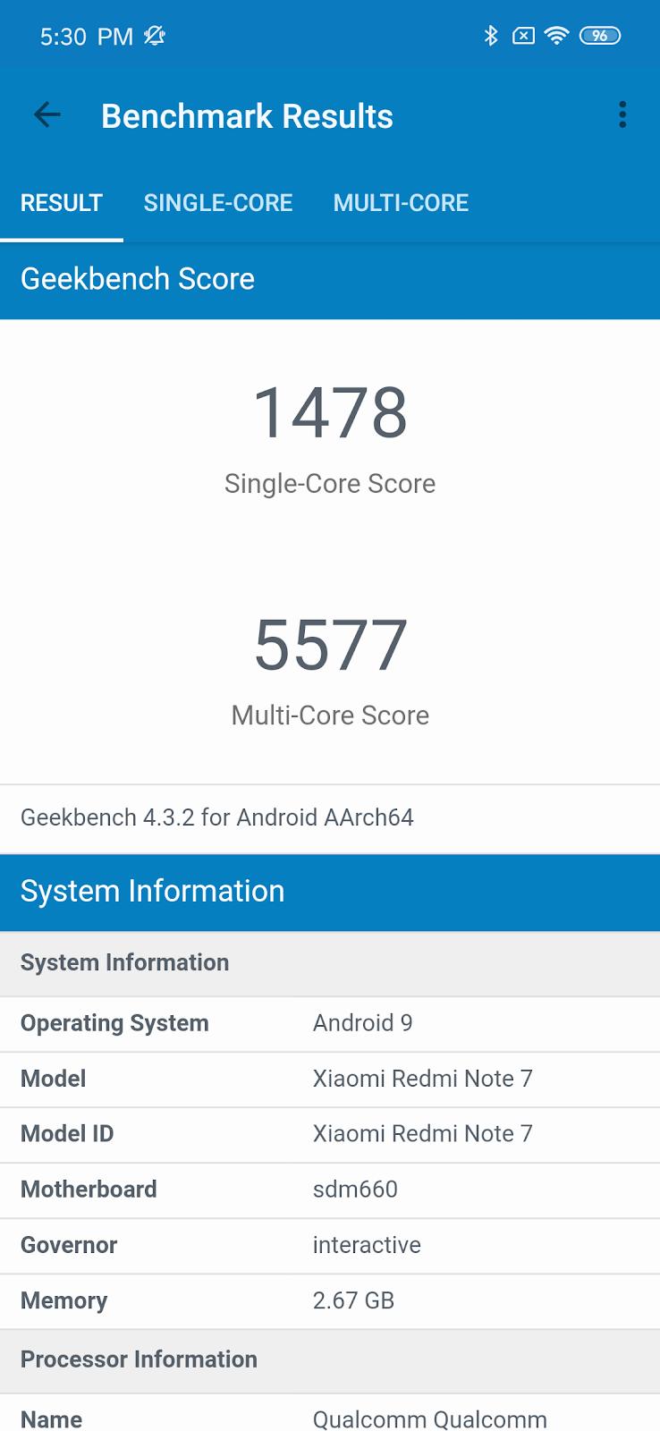 7 is more! Qualcomm Snapdragon 660 processor make Redmi Note