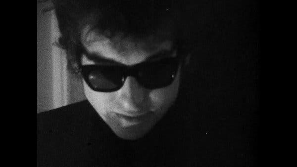 """""""Bob Dylan: Eve Dönüş Yok"""" dan bir sahne."""