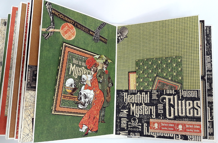 Master Detective Mini Album, by Einat Kessler, product by Graphic 45, photo8.jpg