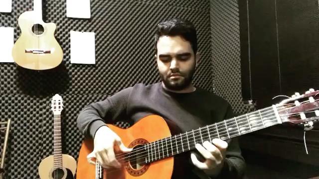 Hablame از GipsyKings بداههنوازى فرزین نیازخانی گیتار