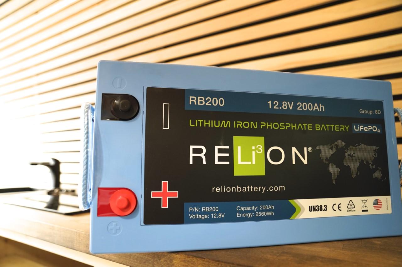 RB200 Sprinter Van Lithium Battery