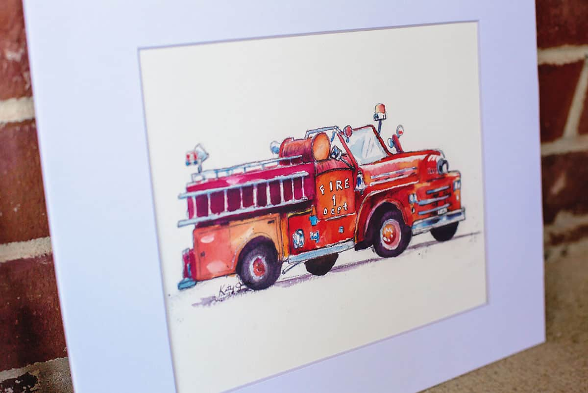 Daily Mom parents portal holiday 2018 Little Splashes of Color Fire Truck Baby gifts for girls and boys