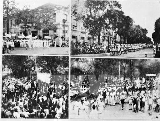 Sống động những hình ảnh Cách mạng Tháng Tám 70 năm trước