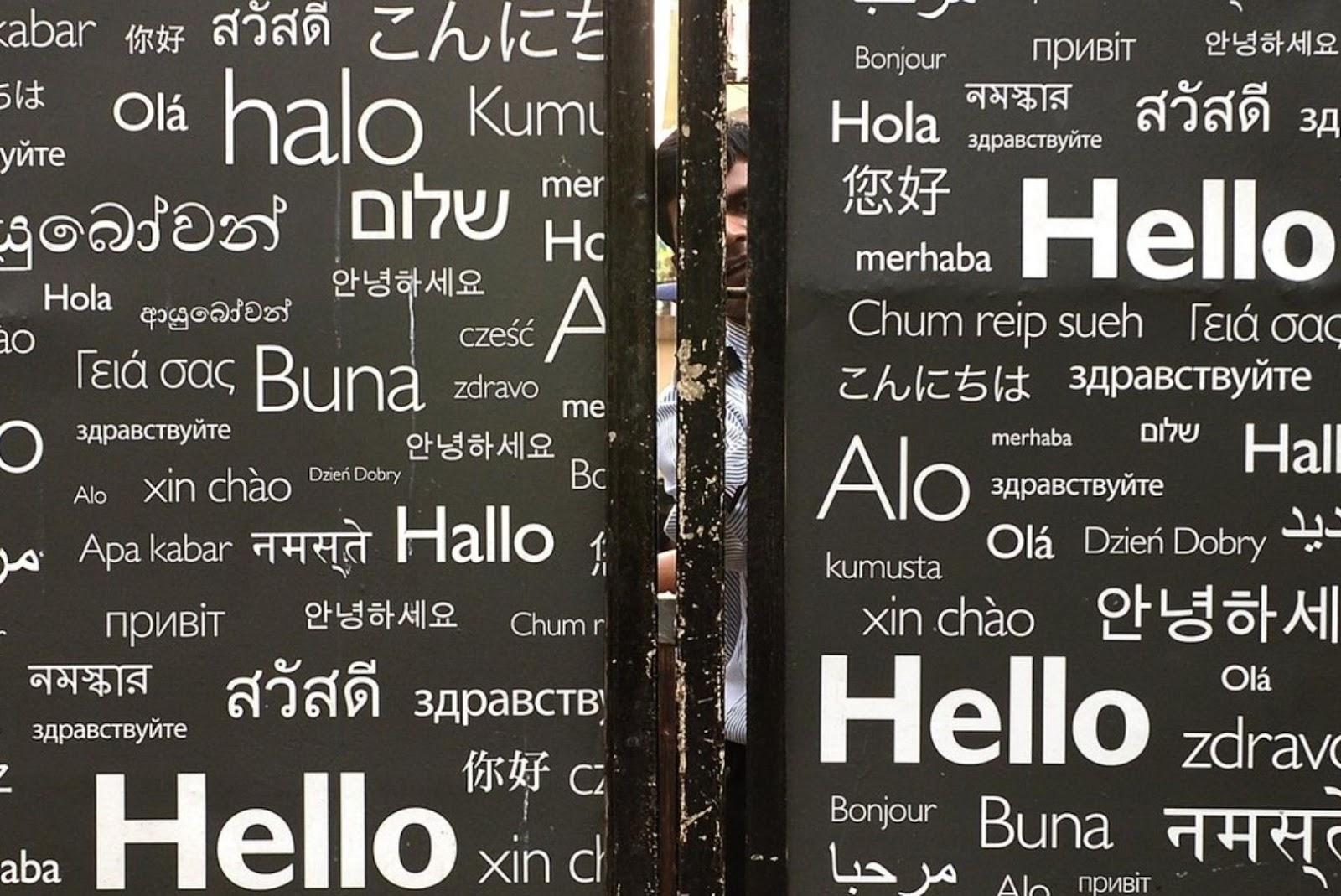 foreigners navigate web app idea