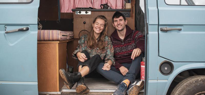 Goboony Vanlife vive insieme in un camper