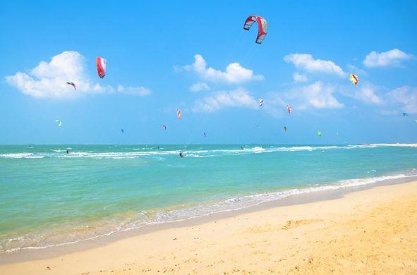Plage Kite Beach à Dubaï