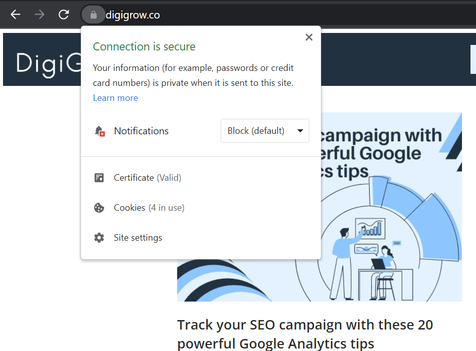 remove spam from website - make it secure with https