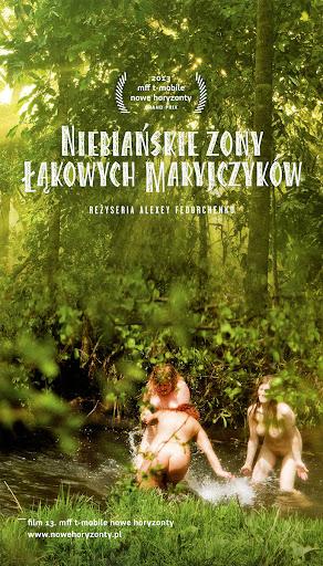 Przód ulotki filmu 'Niebiańskie Żony Łąkowych Maryjczyków'