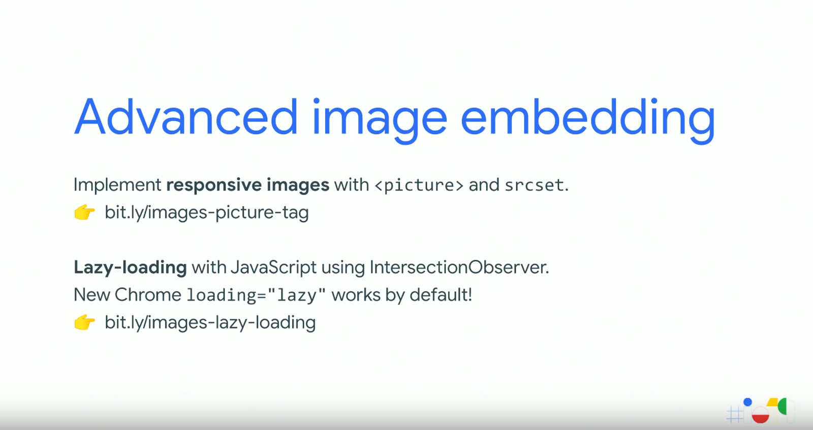 Advance image embedding responsive images Lazy Loading