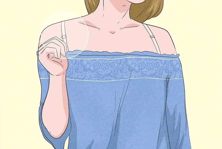 how to wear off shoulder tops with bras
