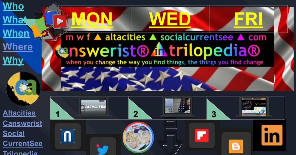 FLIP① ▶ Right Now In Left Coast ▶ Blogs ▶ TriloGI ▶ 4.7.21