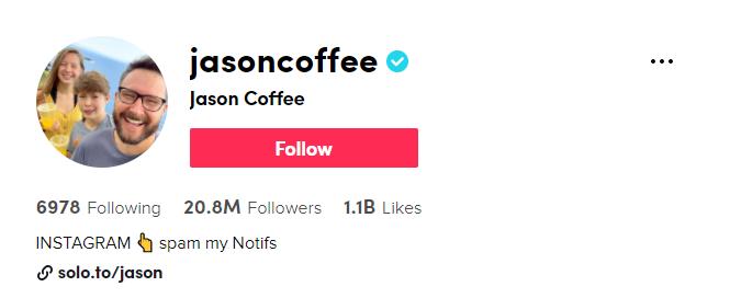 Jason Coffee TikTok
