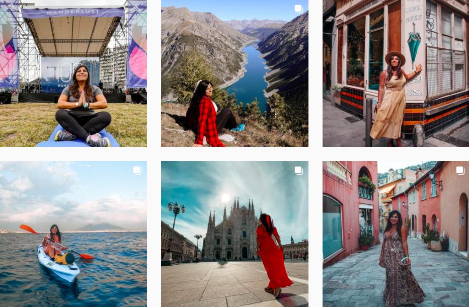 Anna Pernice | Instagram Travel Posts | Italian Influencers on Afluencer